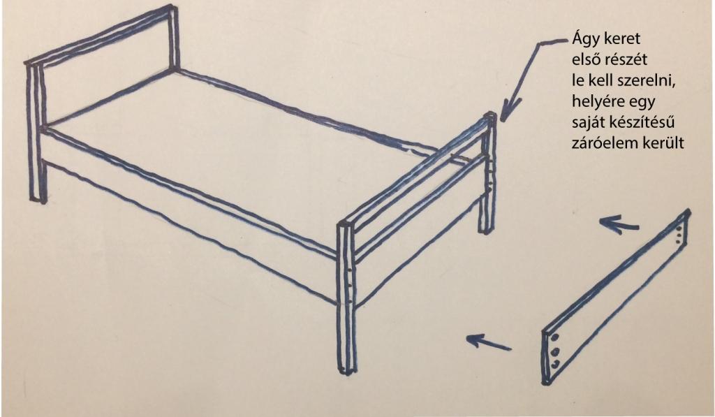 galeria ágy rajz-1 mindenhezis.hu